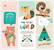 Greeting card and invitation card Stock Photography