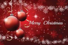 Christmas light vector background. Stock Image