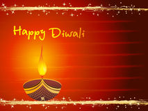Greeting card for isolated diwali card Royalty Free Stock Image