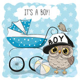Greeting card its a boy Stock Photography