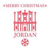 Greeting Card. Jordan. Vector Illustration. illustration EPS Stock Photo
