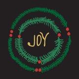Greeting card - joy Royalty Free Stock Images