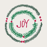 Greeting card - joy Royalty Free Stock Image