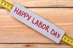 Greeting card on Labor Day. royalty free stock photo