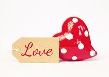 Greeting-card love Stock Image