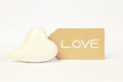 Greeting-card love Stock Photos