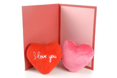 Greeting card love Royalty Free Stock Photography