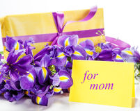 Greeting card for mom Stock Photo