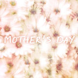 Greeting card for mothers day Stock Photography
