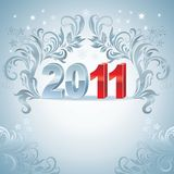 Greeting card. New year. Image for design Stock Photo