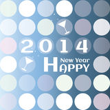 Greeting card for New Year. Royalty Free Stock Photo