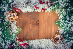 Greeting card for the New Year holidays Royalty Free Stock Photos