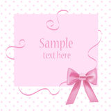 Greeting card with place for your text Stock Photo