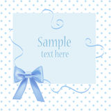 Greeting card with place for your text. Royalty Free Stock Photos