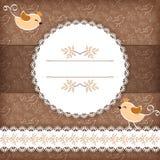 Greeting card Royalty Free Stock Photos