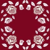 Greeting card roses wedding birthday holiday background. Royalty Free Stock Photo