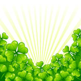 Greeting card for Saint Patrick's day Stock Photo