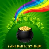 Greeting card for Saint Patrick's day Royalty Free Stock Photography