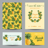 Greeting Card Set - for Wedding, Baby Shower - Stock Photography