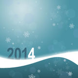 Greeting card with snowflakes. New year greeting card with snowflakes Royalty Free Stock Photos