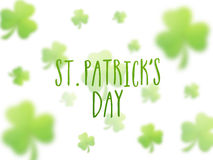 Greeting card for St. Patrick's Day celebration. Stock Photography