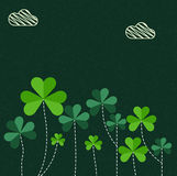 Greeting card for St. Patrick's Day celebration. Royalty Free Stock Photos
