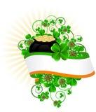 Greeting Card St. Patricks Day Royalty Free Stock Image