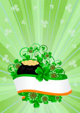 Greeting Card St. Patricks Day Royalty Free Stock Photos