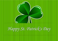 Greeting Card St. Patricks Day Stock Image
