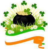 Greeting Card St. Patricks Day Royalty Free Stock Photography