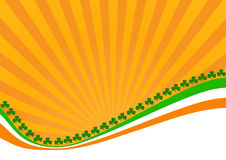 Greeting Card St. Patricks Day Stock Images