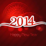 Greeting card stylish for happy new year holiday b Royalty Free Stock Photography