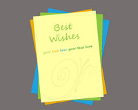 Greeting Card Template Royalty Free Stock Photo