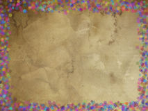 Greeting card to congratulate the holidays. Greeting card with texture to congratulate the holidays Stock Photography