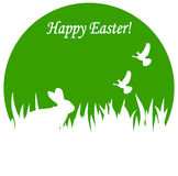 Greeting card to a happy Easter Royalty Free Stock Image
