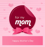 Greeting card to mother's day Stock Photos