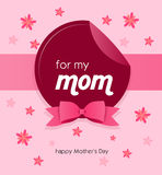 Greeting card to mother's day Stock Photo