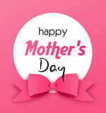 Greeting card to mother's day Royalty Free Stock Photos