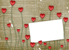 Greeting Card to St. Valentine's Day Royalty Free Stock Images
