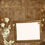 Greeting Card to St. Valentine's Day Royalty Free Stock Image