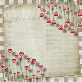 Greeting Card to St. Valentine's Day Royalty Free Stock Photo