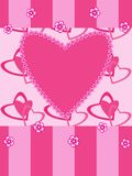 Greeting card Valentine day Royalty Free Stock Photo
