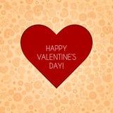 Greeting card valentine Royalty Free Stock Photos