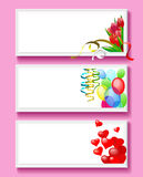Greeting card for Valentine's Day. Royalty Free Stock Photos
