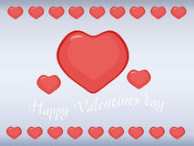 Greeting card for Valentine's Day Royalty Free Stock Photo
