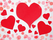 Greeting card valentine`s day love holiday concept background Stock Photo