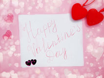 Greeting card valentine`s day love holiday concept Stock Photos