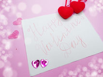 Greeting card valentine`s day love holiday concept Stock Photo
