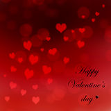 Greeting card valentine`s day Royalty Free Stock Photo