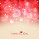 Greeting card for Valentine's Day. Stock Images